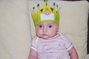 一歳 誕生日1
