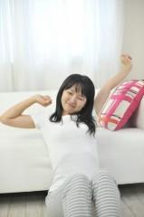 a0002_008616 女性背伸び