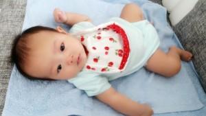 赤ちゃん スタイ 作り方